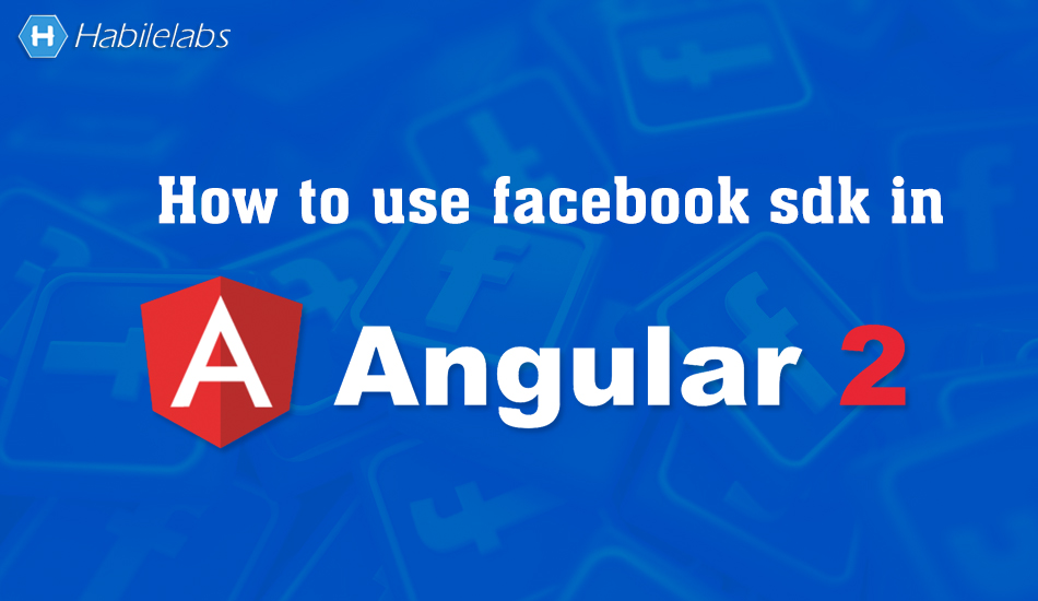 How to use facebook sdk in angular 2