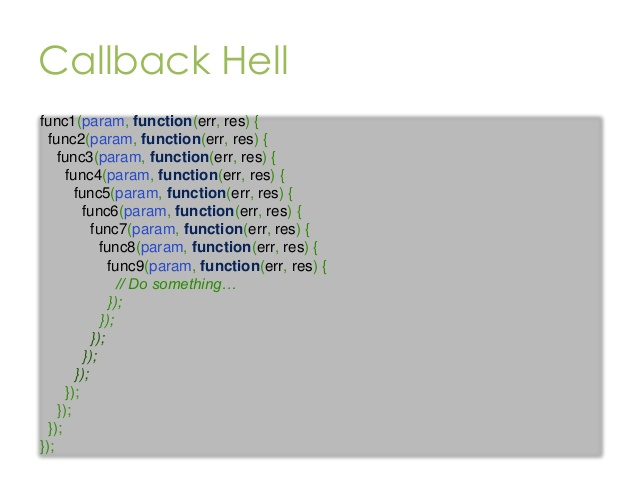Avoid callback hell using Async module