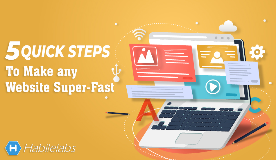 quick steps to make any website super fast