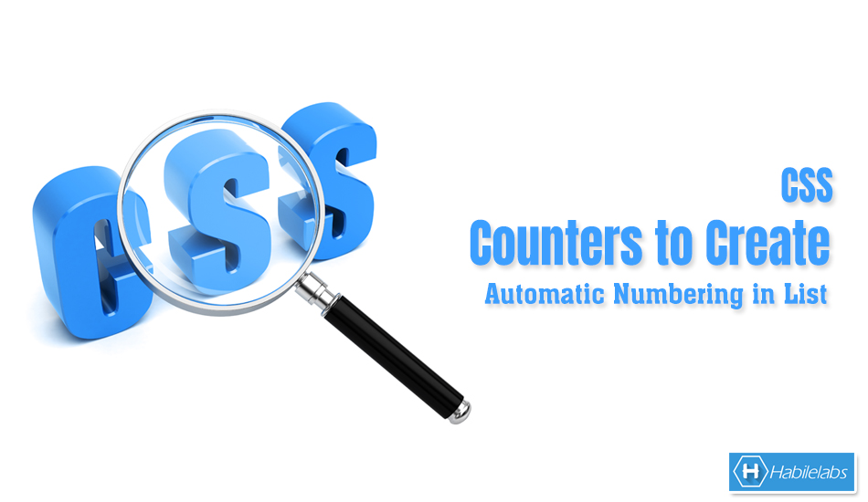 CSS Counters to Create Automatic
