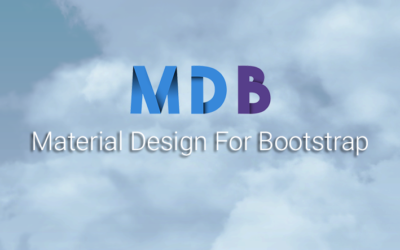 Material design for bootstrap basics (MDB)