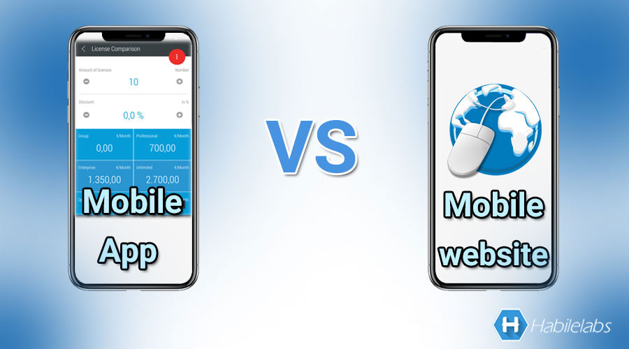 Mobile App vs Mobile Website: Comparison for a Better Choice?