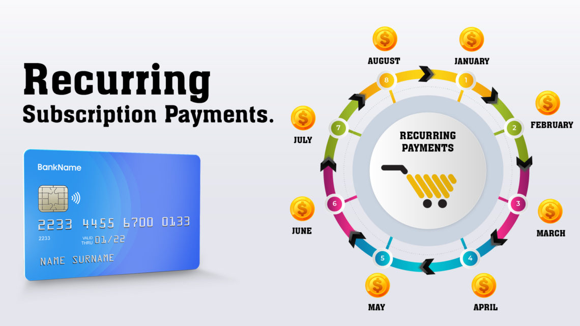 recurring subscription payments